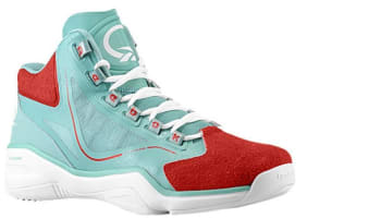 Reebok Q96 Jade/Red-White