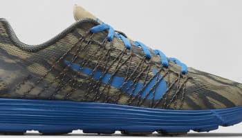 Nike Lunaracer+ 3 Light Charcoal/Bamboo-Dark Mushroom-Military Blue
