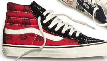 Vans OG Sk8-Hi LX Red/Black-White