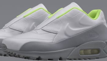 Nike Air Max '90 Women's White/Wolf Grey-Volt-White