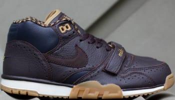 Nike Air Trainer 1 Mid Premium QS Velvet Brown/Velvet Brown-Dark Obsidian