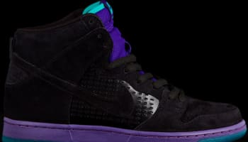Nike Dunk High Premium SB Black/Grape Ice-New Emerald-Black