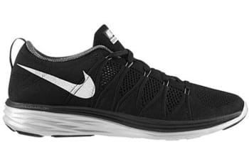 Nike Flyknit Lunar2 Black/White-Dark Grey-Pure Platinum