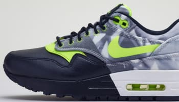 Nike Air Max 1 Women's Black/Volt-White