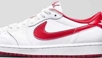 Air Jordan 1 Retro Low OG White/Varsity Red-White