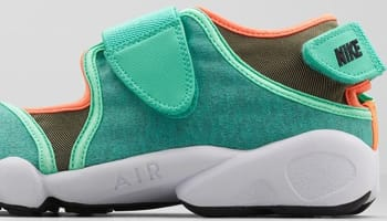 Nike Air Rift Crystal Mint/Bright Citrus-Total Orange-Black