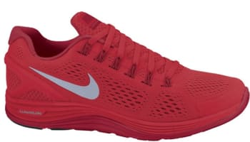 Nike Lunarglide+ 4 University Red/Reflective Silver-Gym Red