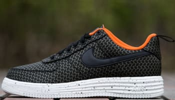 Nike Lunar Force 1 Low UNDFTD SP Black/Black-Medium Olive