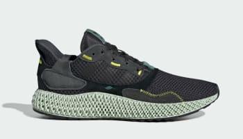 Adidas ZX 4000 4D Carbon/Carbon/Semi Solar Yellow