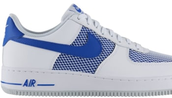 Nike Air Force 1 Low White/Hyper Cobalt-Pure Platinum