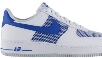 Nike Air Force 1 Low White/Hyper Cobalt-Pure Platinum