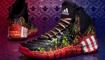 adidas Crazyquick 2 Black/Vivid Green-Legacy Scarlet