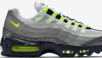 Nike Air Max '95 OG Premium Black/Volt-Medium Ash-Dark Pewter