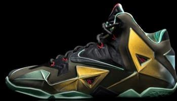 Nike LeBron 11 King's Pride Parachute Gold