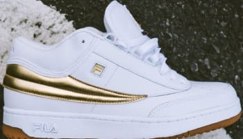 Mr. Flawless x Fila T-1 Mid White/Gold