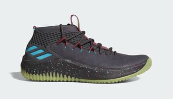 Adidas Dame 4 Black/Glow (Glow in the Park)