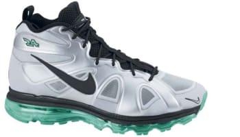 Nike Air Max Griffey Fury Metallic Silver/Black-New Green