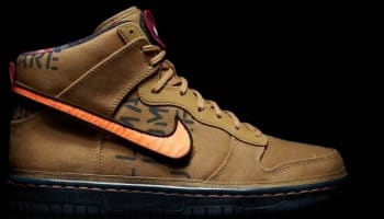 Nike Dunk High Premium QS Flat Gold