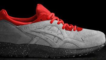 Asics Gel-Lyte V Cement Grey/Red