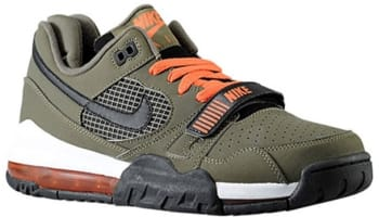 Nike Air Max 360 Trainer 2 Medium Olive/Turf Orange-White-Black