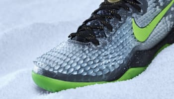 Nike Kobe 8 System SS Black/Electric Green-Cool Grey-Metallic Gold