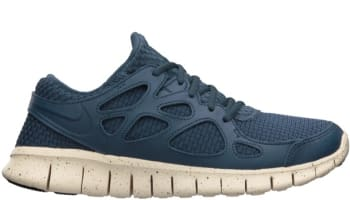 Nike Free Run+ 2 Woven Leather TZ Squadron Blue/Squadron Blue-Beach