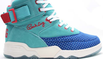 Ewing Athletics Ewing 33 Hi Baltic/Turkish Sea-Red