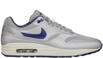 Nike Air Max 1 Hyperfuse Metallic Silver/Deep Royal Blue-Sail