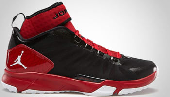 Jordan Trunner Dominate Pro Black/White-Gym Red