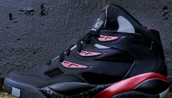 adidas Mutombo II Black/Black-University Red