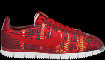Nike Cortez NM Premium YOTH QS Team Red/Gym Red-Summit White-Pine Green
