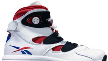 Reebok Shaq Attaq IV White/Black-Red-Royal