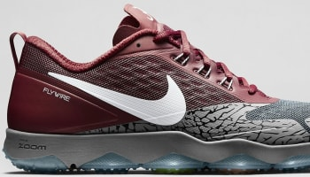 Nike Zoom Hypercross TR Dark Steel Grey/Team Crimson-White