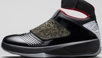 Air Jordan 20 Retro Black/Stealth-Varsity Red