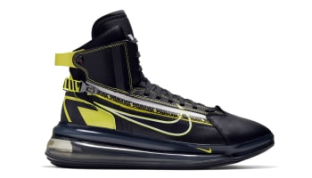 Nike Air Max 720 SATURN Black/Dynamic Yellow-University Red