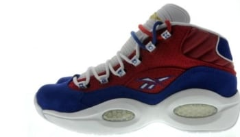 Reebok Question Mid Red/Blue-White