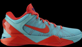 Nike Zoom Kobe 7 FC Barcelona Cool Mint/Bright Crimson