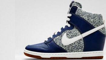 Nike Dunk Sky Hi Liberty Women's Blue Recall/White