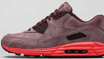 Nike Air Max Lunar90 Leather Mahogany/Mahogany-Bright Crimson-Pebble Red
