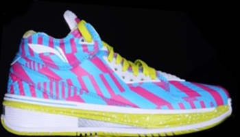 Li-Ning Way Of Wade 2 Blue/Pink-Yellow