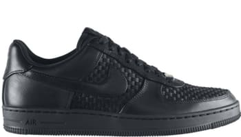 Nike Air Force 1 Low Downtown Leather QS Black/Black-Black