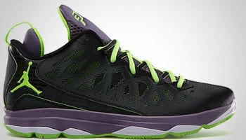 Jordan CP3.VI Black/Electric Green-Canyon Purple-Pure Violet