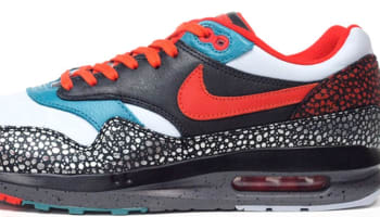 Nike Air Max Lunar1 Deluxe QS Anthracite/Black-Catalina-Team Orange