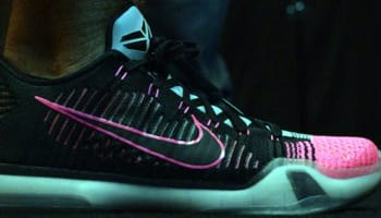 Nike Kobe X Elite Low Black/Black-Wolf Grey-Pink Flash
