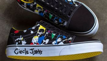 Vans Old Skool Black/Multi-Color