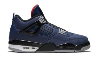 Air Jordan 4 Retro Winterized Loyal Blue/White/Habanero Red/Black