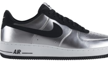 Nike Air Force 1 Low Metallic Silver/Black-White