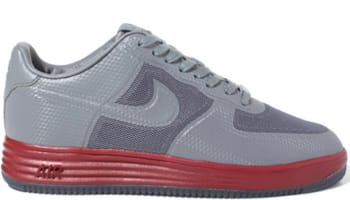 Nike Lunar Force 1 Low Fuse NRG Cool Grey/Cool Grey-Team Red
