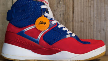 Reebok The Pump Certified Scarlet/Team Dark Royal-White