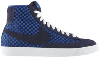 Nike Blazer Mid Woven Blackend Blue/Blackend Blue-Game Royal-White